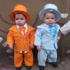 Baby Dumb and Dumber - Halloween Costume Contest