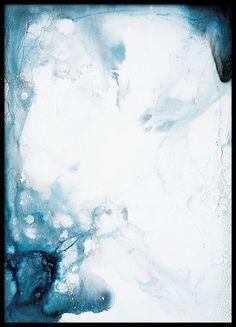 Blue deep, plakat i gruppen Plakater / Størrelser / 61x91cm hos Desenio AB (8383)