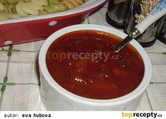 Cuketová omáčka na špagety recept - TopRecepty.cz Slovak Recipes, Czech Recipes, Pumpkin Squash, Home Canning, Pesto Sauce, Zucchini, Chili, Salsa, Good Food