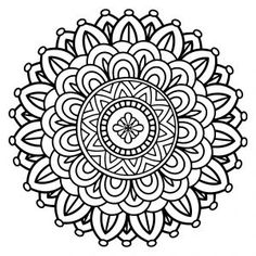 Free Printable Mandala Coloring Sheets There is just something about coloring. It has a relaxing and calming benefit, experiencing relief. You release negative energy and are filled with a posit Paisley Coloring Pages, Fairy Coloring Pages, Printable Adult Coloring Pages, Mandala Coloring Pages, Coloring Pages To Print, Free Coloring Pages, Coloring Books, Colouring, Mandala Arm Tattoo