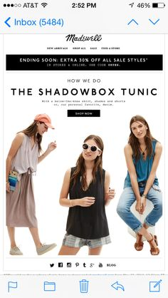 Simple loose (and quality) tunic. Perfect for summer!