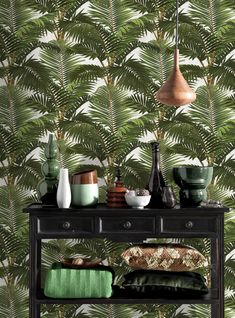 Wallpaper is sold in a set of 3 rolls.  Each roll - W: 52cm x L: 300cm - which covers 4.65m2