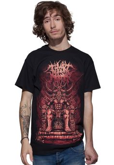 Thy Art Is Murder - King Of Hell - T-Shirt - Official Deathcore Merchandise Online Shop - Impericon.com Australia