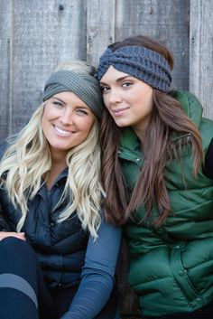 BANDED WINTER HEADBANDS | Fashionable & functional cold weather headbands featuring our signature no-slip design. Every headband purchased provides 3 meals for a child in need in Uganda.