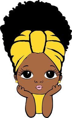 Black Love Art, Black Girl Art, Art Girl, Black Girls, Black Art Painting, Black Artwork, Afrique Art, Black Girl Cartoon, Black Art Pictures