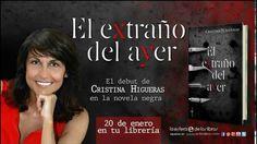 Booktrailer que he diseñado para El extraño del ayer de Cristina Higueras en La Esfera de los Libros