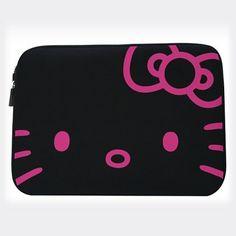 Hello Kitty Neon Laptop Case | Claire's