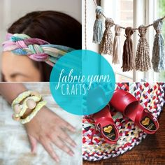 Refashioned Cool: 10 Fabric Yarn Crafts from Babble.com