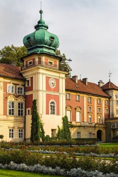 Castle in Łańcut, Poland Poland Cities, Heart Of Europe, Historical Architecture, Central Europe, Krakow, Best Cities, Warsaw, Eastern Europe, Places To See