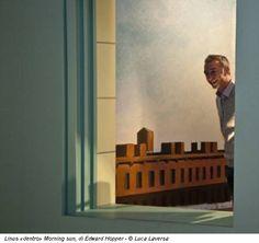 Linus «dentro» Morning sun, di Edward Hopper - © Luca Laversa