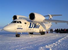 UTAir AN-74s or how is it like to land an airliner on drifting ice. (This is an Antonov aircraft)