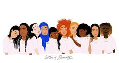 """""""Sisters in Humanity #feminism #Feminist #féminisme #féminismeIntersectionnel #Intersectionnalité"""""""