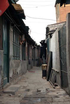 Beijing, China - The Hutongs (how the Chinese used to live)