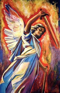 St. Michael the archangel, defend us in battle...