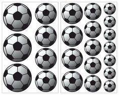 Fancy Bunte Fussball als Wandtattoo Set in verschiedenen Farben und Gr en sofort lieferbar