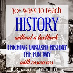 Using primary documents, photographs, letters, and other forms of media can be a great way to engage students in history. 30 Ways to Teach History WITHOUT a Textbook.
