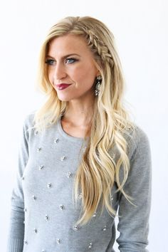Elle Apparel: TWO HAIR TUTORIALS PERFECT FOR NEW YEARS EVE