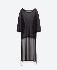 Image 8 of ASYMMETRIC T-SHIRT from Zara
