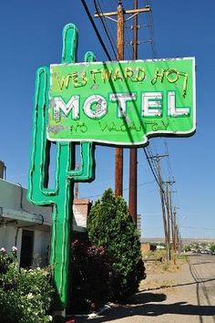 Route 66. Westward Ho Motel, New Mexico by deana