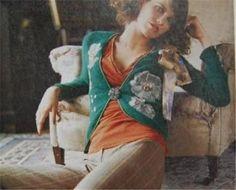 RARE Anthropologie 2002 Autumn Harvest Cardigan Angora Sweater Jacket 4 6 S | eBay