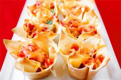 Finger Foods from Muffin Pans