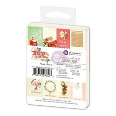 Prima Marketing - 3X4 Journaling Cards - Sweet Peppermint