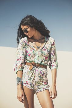 "Spell & The Gypsy Collective ""White Dunes, Gypsy Hues"" LookBook"