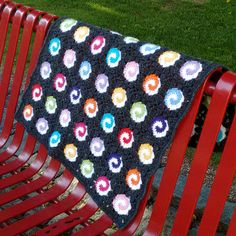 CROCHET PATTERN and CHART: Swirl-2 Baby Blanket от SkinomaCrochet