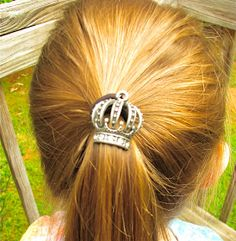 HomeMadeville: How to Create Embellished Hair Accessories