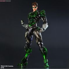 [close] DC Comics Variant Play Arts Kai Green Lantern (PVC Figure) Item picture1