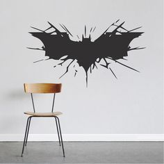 Batman Wall Decal _ Batman Laptop Stickers _ Trendy Wall Designs