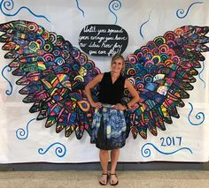 spreadyourwings fly collaboration mural art elementary elementaryart create painting collage temperapaint colorful 2017 is part of Mural art - Collaborative Art Projects For Kids, Group Art Projects, School Art Projects, Collaborative Mural, Best Drawing For Kids, Art For Kids, Middle School Art, Art School, School Murals