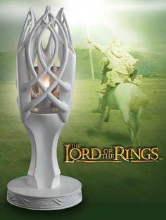 Gandalf the White votive holder
