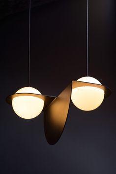 LAURENT LIGHTING | Laurent Lighting from Lambert & Fils - Design Milk | www.bocadolobo.com/ #lightingideas #lighting