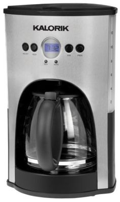 Kalorik 1000Watt 12Cup Programmable Coffeemaker Red * Details can be found by clicking on the image.Note:It is affiliate link to Amazon.