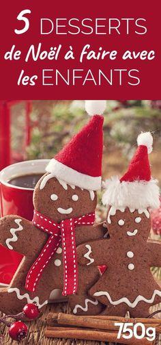 5 desserts de Noël qu'on peut faire avec les enfants