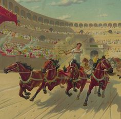 ben hur chariot framed art | August 2012 : Primary Sources in the K-2 Classroom