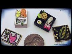 Miniature Polymer Clay Bento Box - YouTube