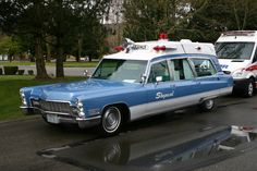 1968 Cadillac Ambulance