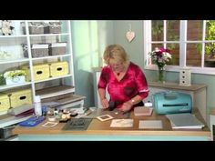 Crafting My Style with Sue Wilson - Fancy Framed Poppy for Creative Expressions - YouTube