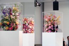 mark colle flower arrangements (jil sander f/w 2012)