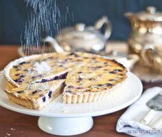 Blueberry Sour Cream Tart – Gluten-Free & low FODMAP by Strands of ...