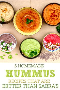 when homemade is so easy, why buy them? #hummus #homemade #recipe #sabras #copycat #dip