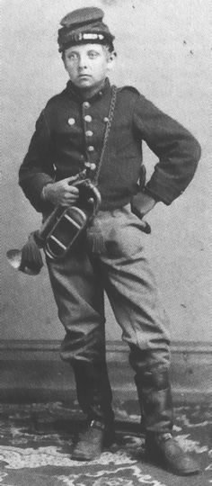 """Gustav Shurmann, """"Sheridan's Little Bugler""""! Did you know that he was good friends with Thomas """"Tad"""" Lincoln?Unforgettable Heroes and She-roes How important it is for us to recognize our heroes and she-roes! American Civil War, American History, Kings & Queens, Confederate States Of America, Drummer Boy, War Image, Civil War Photos, Le Far West, Us History"""