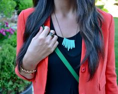 6 - summer brights (coral + black + mint + kelly green) <<<Pink Avenue