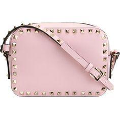 34754b637b0 Valentino Garavani Rockstud Crossbody Bag found on Polyvore featuring bags
