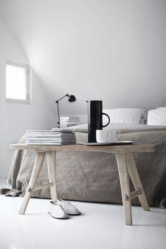 nordic inspired, natural textures, table | minimal yogic design