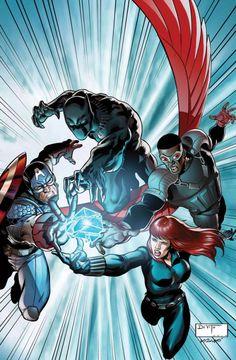 Avengers by ANDREA DI VITO