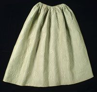 Philadelphia Museum of Art - Collections Object : Woman's Quilted Petticoat  P1947-8-1