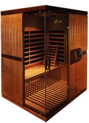 Designed to comfortably accommodate 2 people, the LuxSauna SolarSpa Infrared Sauna is popular with families and single customers that prefer to have plenty of room in their sauna to stretch out and relax.